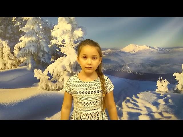 Изображение предпросмотра прочтения – ЗояПогорелова читает произведение «Зима» С.А.Есенина