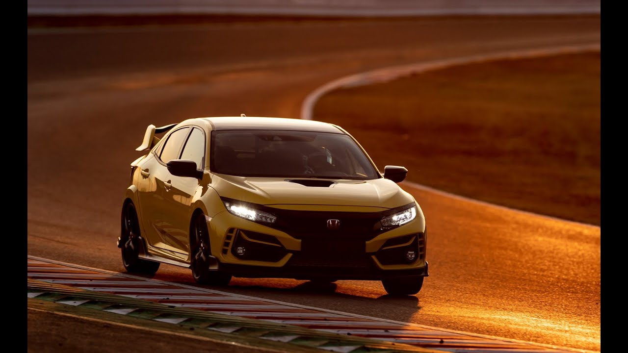 2021 Civic Type R Limited Edition Lap Record at Suzuka Part 1 of 2