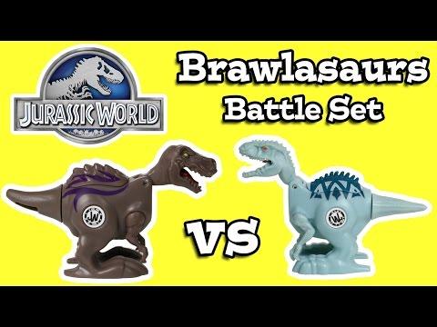 Jurassic World Brawlasaurs Battle Set Review