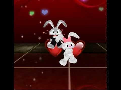 imvu performance of snuggle bunny