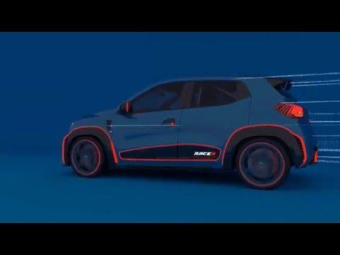 Le show car Renault Kwid Racer joue au petit crossover survitaminé