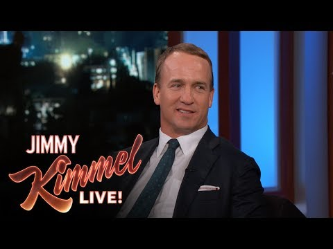 Peyton Manning on Fantasy Football Fans