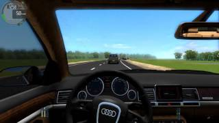 City Car Driving - Audi A8 W12  With Logitech G29