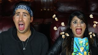 Types of People During Scary Movies