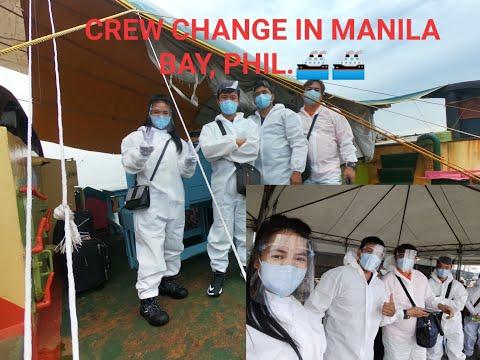 MANILA BAY SHIP'S CREW CHANGE