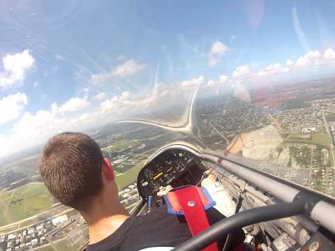 Flying a Glider with Civil Air Patrol