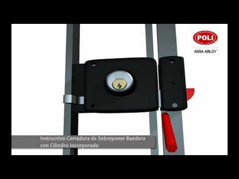 Cerradura de sobreponer youtube - Cerraduras para puertas metalicas ...