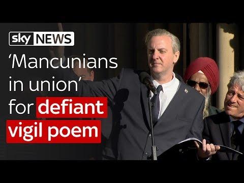 Manchester Attack: Vigil poem of defiance