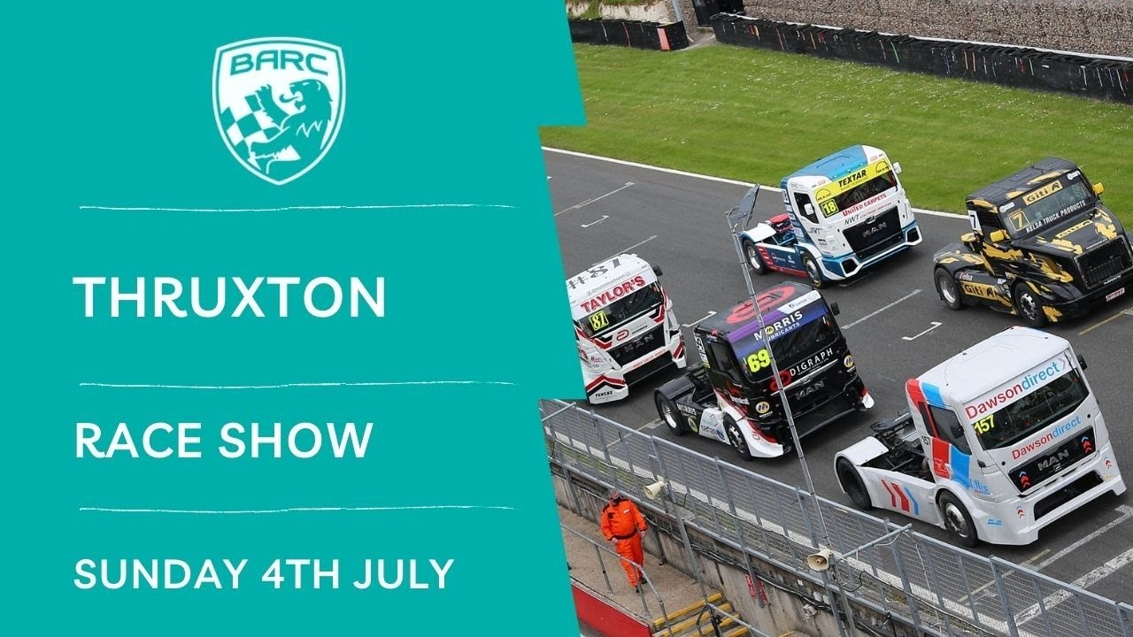 Download BARC LIVE   Race Show   Thruxton   July 4 2021