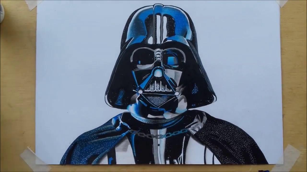 Desenhando Drawing Darth Vader Game Stars Wars Battlefront Youtube