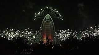 Burj Al Arab 15th anniversary / UAE National Day Fireworks 2014 (Full Show)