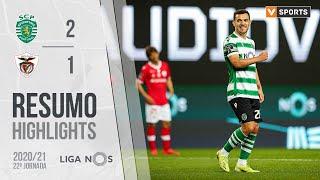 Highlights   Resumo: Sporting 2-1 Santa Clara (Liga 20/21 #22)