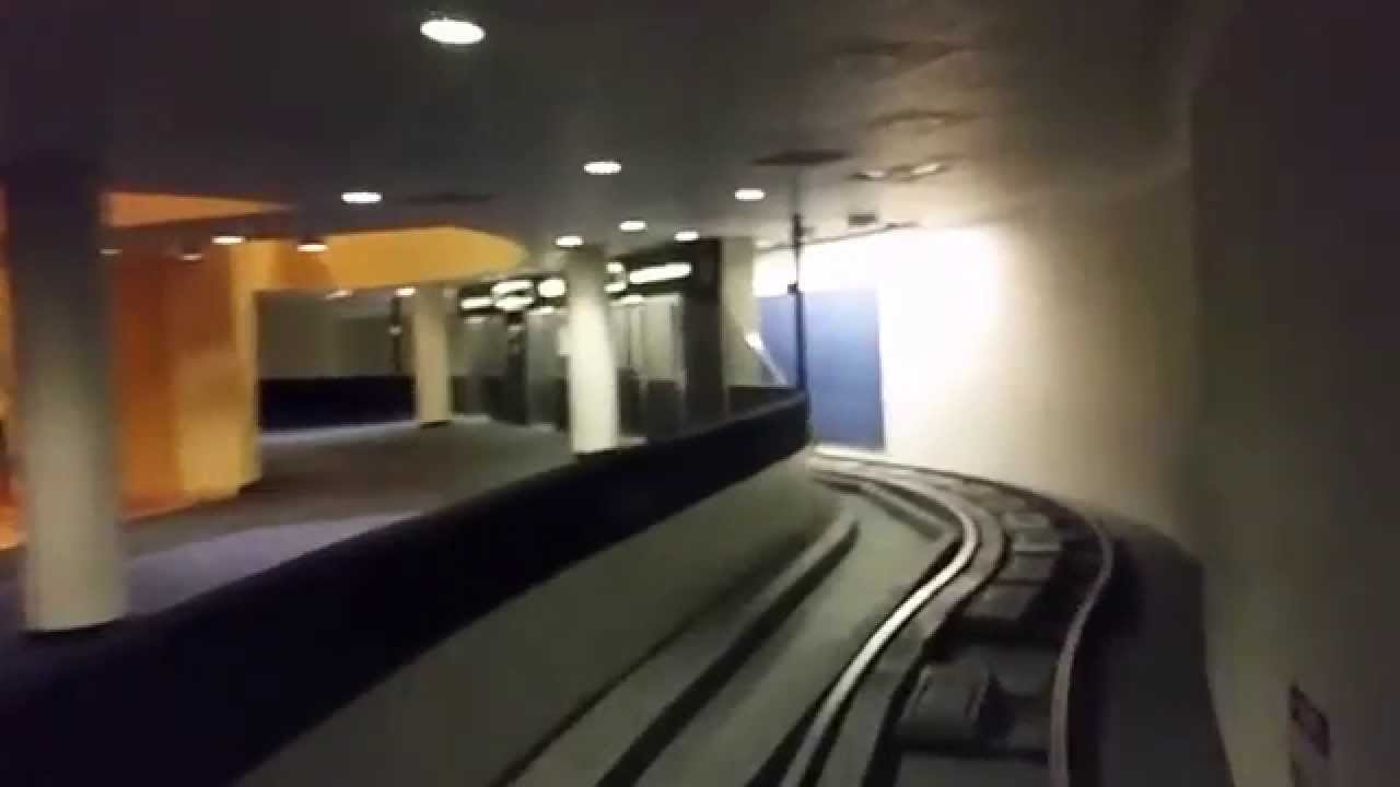 Riding The Inter Terminal Subway At Houston