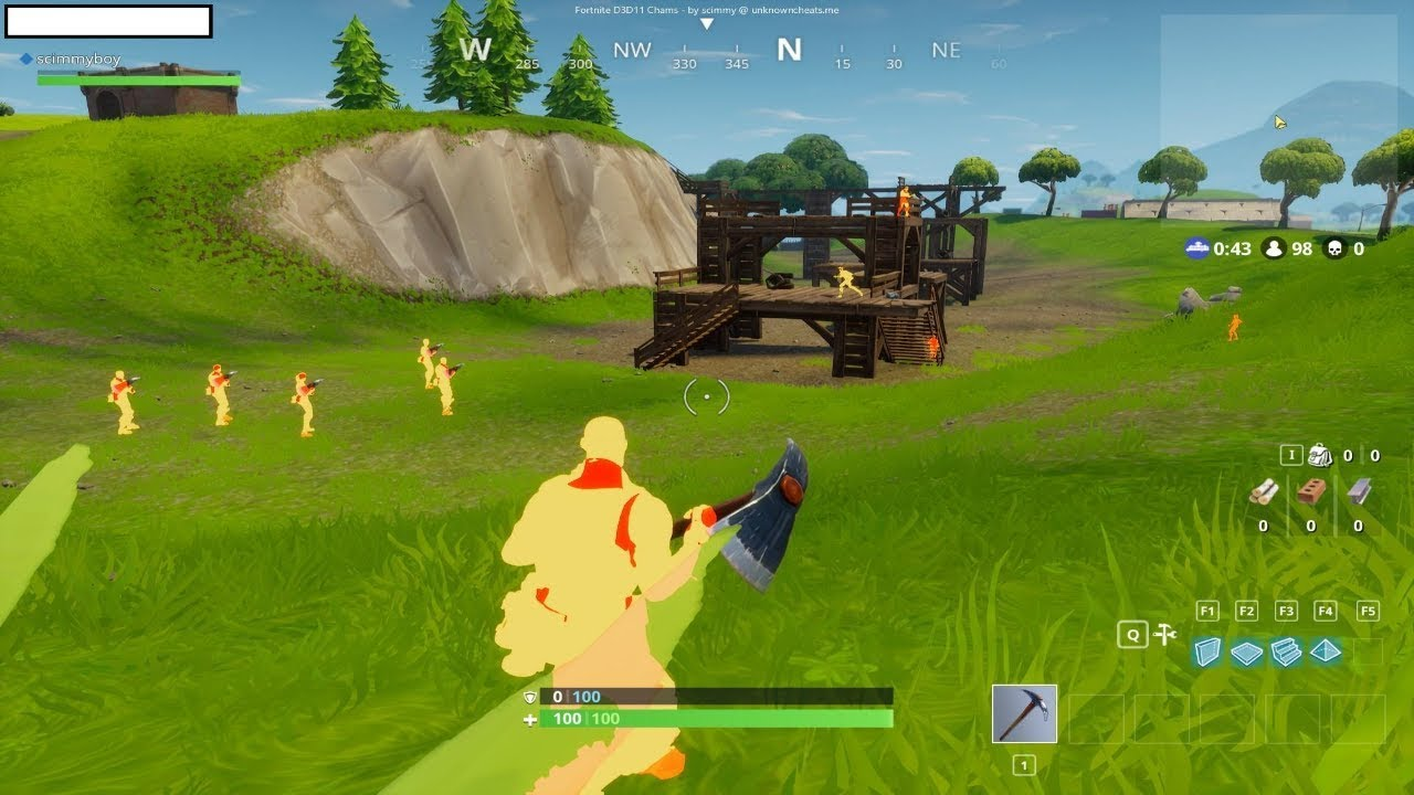 ✨NEW✨FORTNITE HACK [PC PS4 XBOX] ESP + AIMBOT [DOWNLOAD]