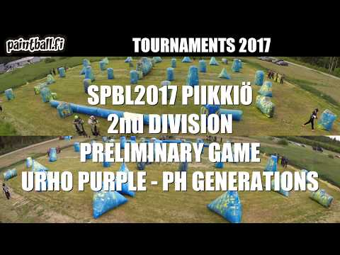 Urho purple vs PH Generations - SPBL2017 Piikkiö