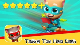 Talking Tom Hero Dash Day26 Walkthrough Agility Master Recommend index five stars+