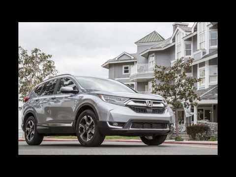 2018 The All-New Honda CR-V Touring AWD Turbo