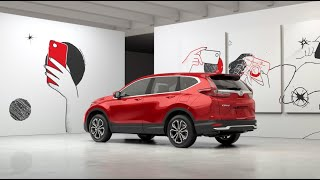 homepage tile video photo for The Honda 2021 CR-V EX :30