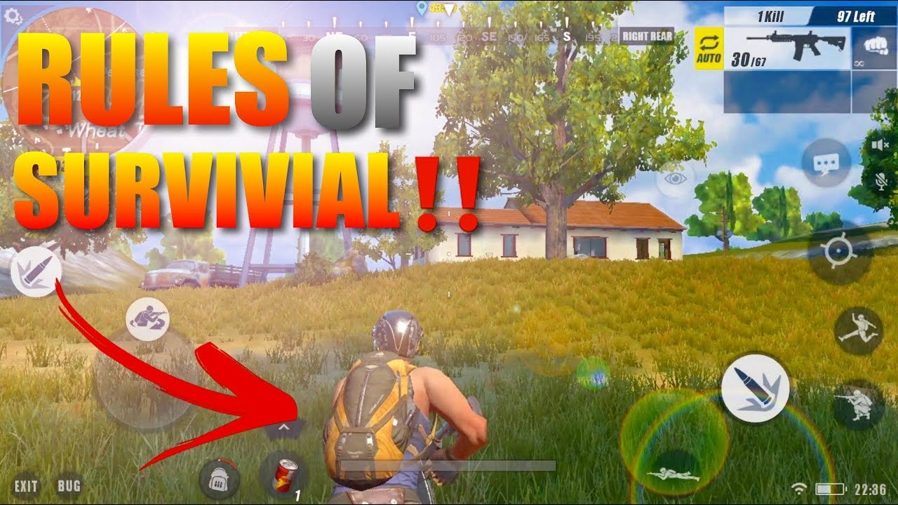 Best PubGBattle Royale Game For IOS And Android Rules Of Survivial YouTube