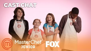 MasterChef Juniors Talk Valentine's Day | Season 3 | MASTERCHEF JUNIOR