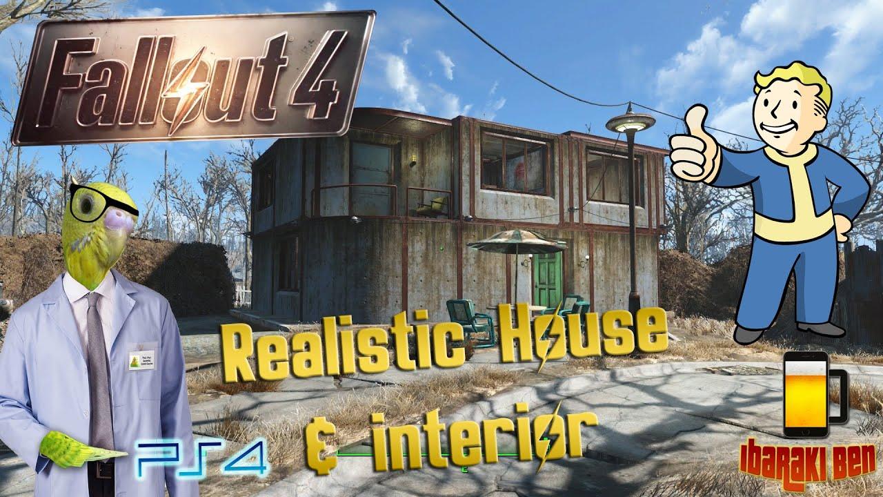 fallout 4 perfect settlements realistic concrete house youtube - Concrete House 2016