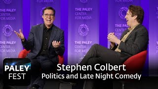 An Evening with Stephen Colbert - Politics and Late-Night Comedy