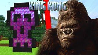 COMO HACER UN PORTAL A LA DIMENSION DE KING KONG - MINECRAFT PORTALES A DIMENSIONES