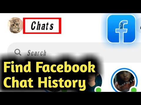 How To Find Facebook Chat History