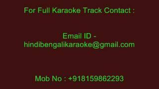 Chand Roz Aur Meri Jaan - Karaoke - Kishore Kumar - Sitamgar (1985)