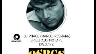 """DJ Phage (Marco Resmann) - """"Spielhaus"""" Mixtape (25.07.1997)"""