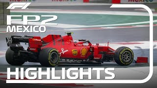2019 Mexican Grand Prix: FP2 Highlights