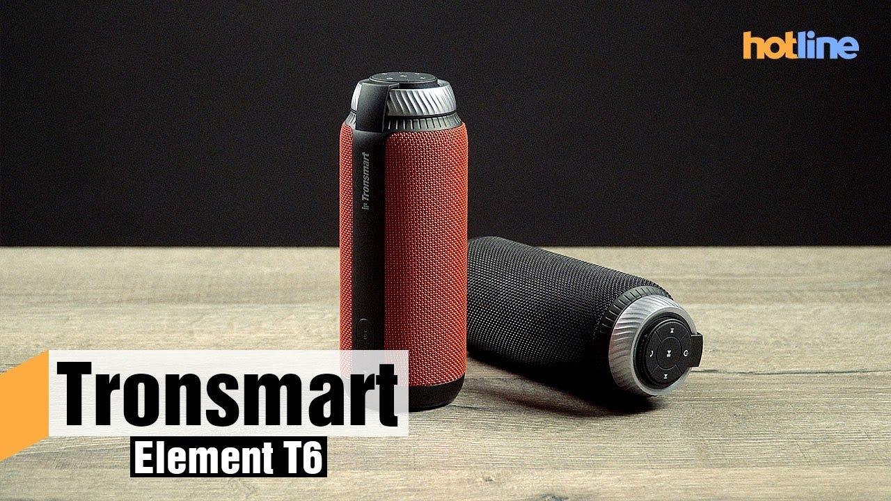 Tronsmart Element T6 — обзор портативной колонки
