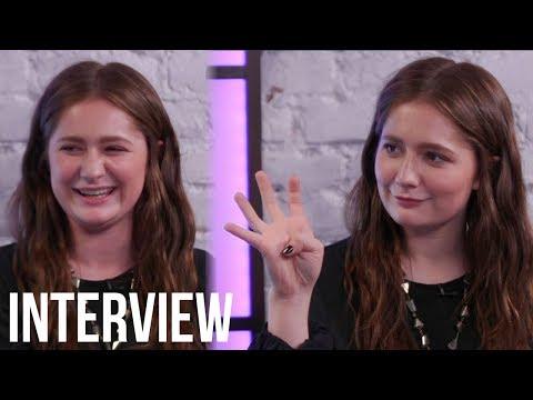 Shameless Star Emma Kenney GIRLS Over Roseanne Costars & Plays 'Never Have I Ever'