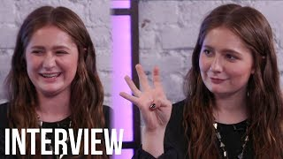 Shameless Star Emma Kenney FANGIRLS Over Roseanne Costars & Plays 'Never Have I Ever'