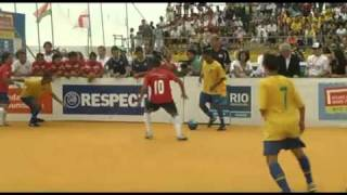 Rio 2010 Day 8: Men Final BRA-CHI  Homeless World Cup (1.) - German HQ