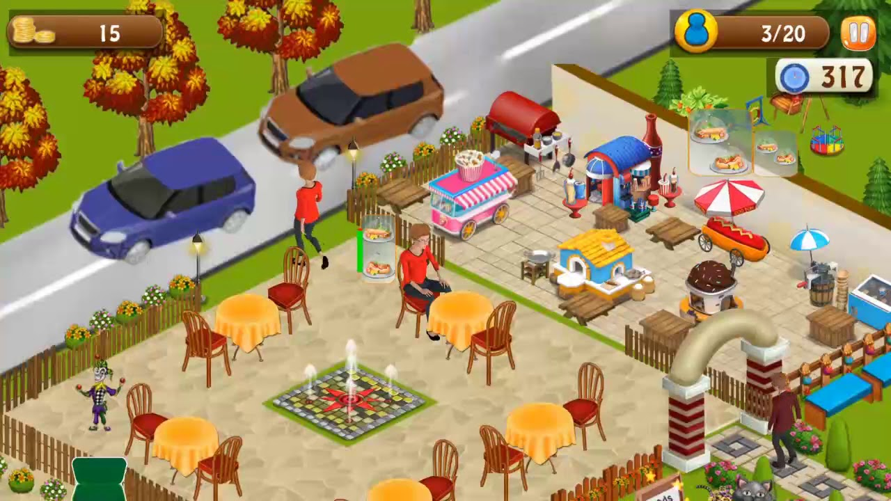 Fast Food Restaurant Cooking Chef Cooking Games Android Game Play