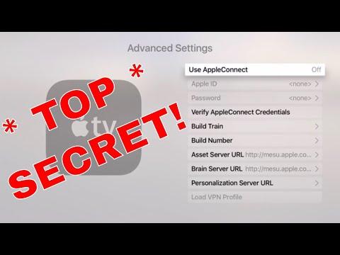 Apple TV Secret Hidden Menu