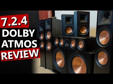 Dolby Atmos 7.2.4 Review - Klipsch Reference Premiere Speakers
