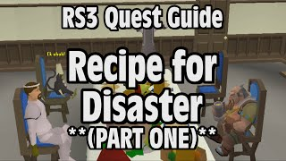 RS3: Recipe for Disaster (Part 1) Quest Guide - RuneScape