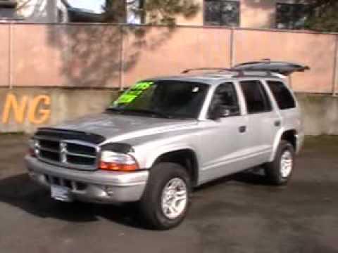 2003 Dodge Durango Slt 4x4 4 7l Youtube