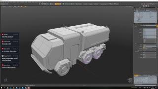 Sci-Fi Vehicle (EN/RUS)  #Modo #UE4