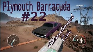 Need For Speed Abandoned Car #22 Plymouth Barracuda (Runner)