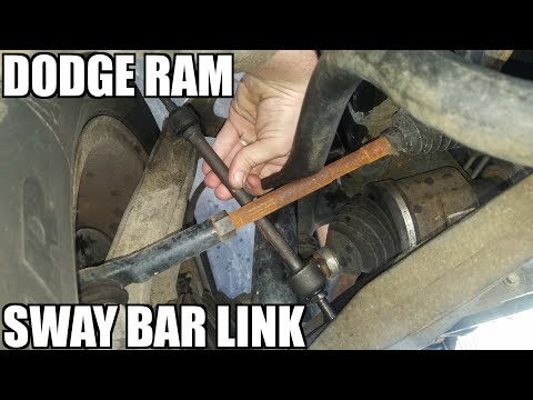 "Sway Bar Link 02-08 Dodge Ram Replacement ""How to"""