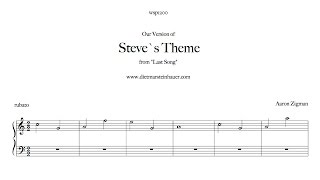 "Steve`s Theme from ""The Last Song"""