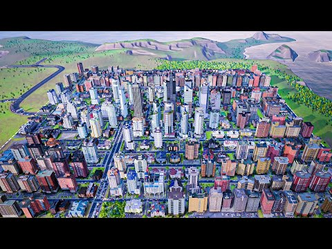 SimCity (2013) | TIMELAPSE- 0 To 500,000 Population [12]