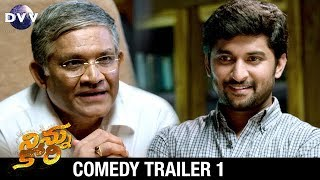 Ninnu Kori Telugu Movie Comedy Trailer #1 | Nani | Nivetha Thomas | Aadhi | DVV Entertainments