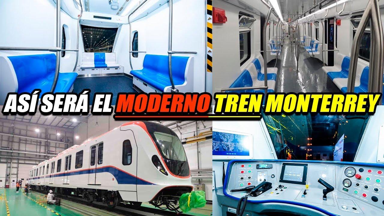 ASÍ SERÁN LOS MODERNOS VAGONES QUE ENVIARÁN DESDE ASÍA PARA EL NUEVO TREN DE MONTERREY