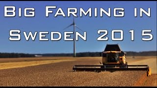 Big Farming in Sweden 2015