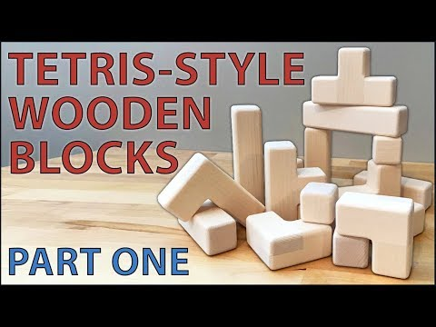 How to Make Tetris-Style Wooden Blocks - Part 1: Building the Blocks