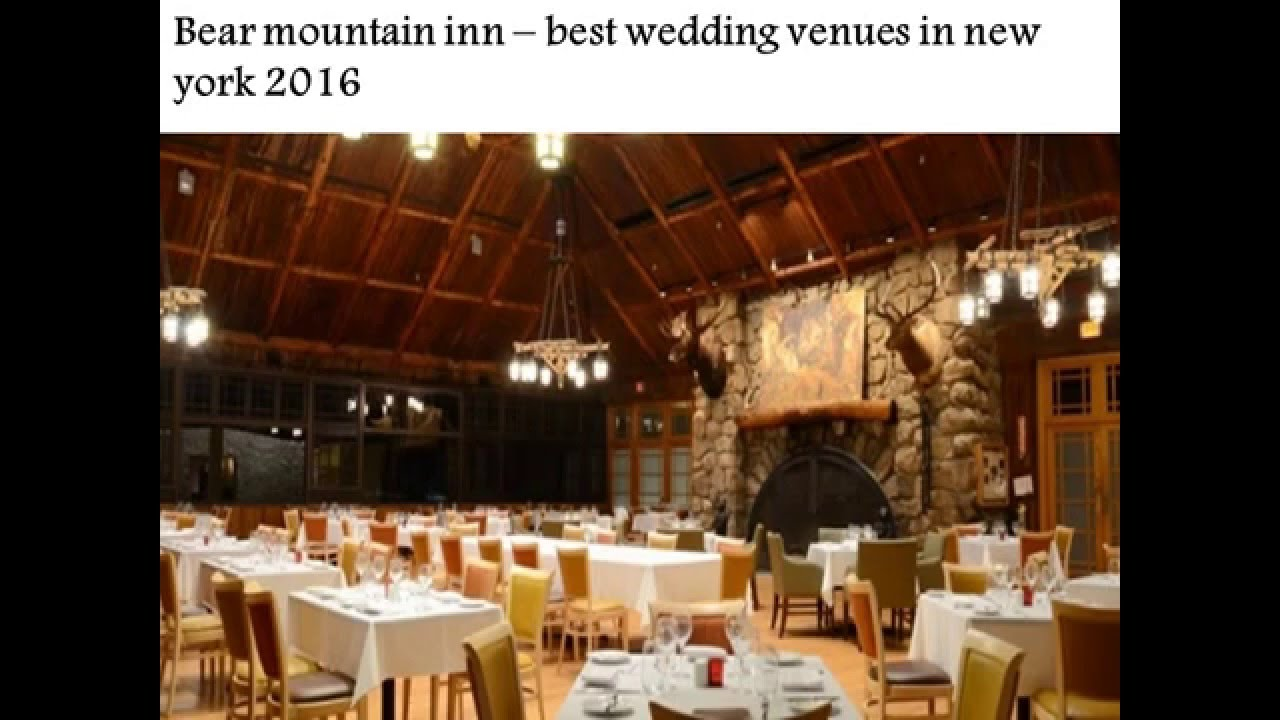 Best wedding venues in new york 2016 youtube for Best wedding locations nyc